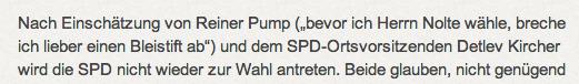 Wendehals Reiner Pump